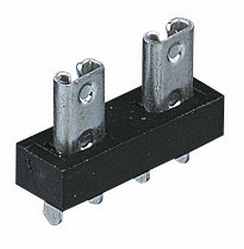 High Quality Fuse Holder To Accept 2 x Standard Blade Fuses PCB Mounted