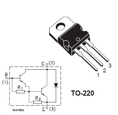 BDW93C Darlington NPN 12A 100V Transistor