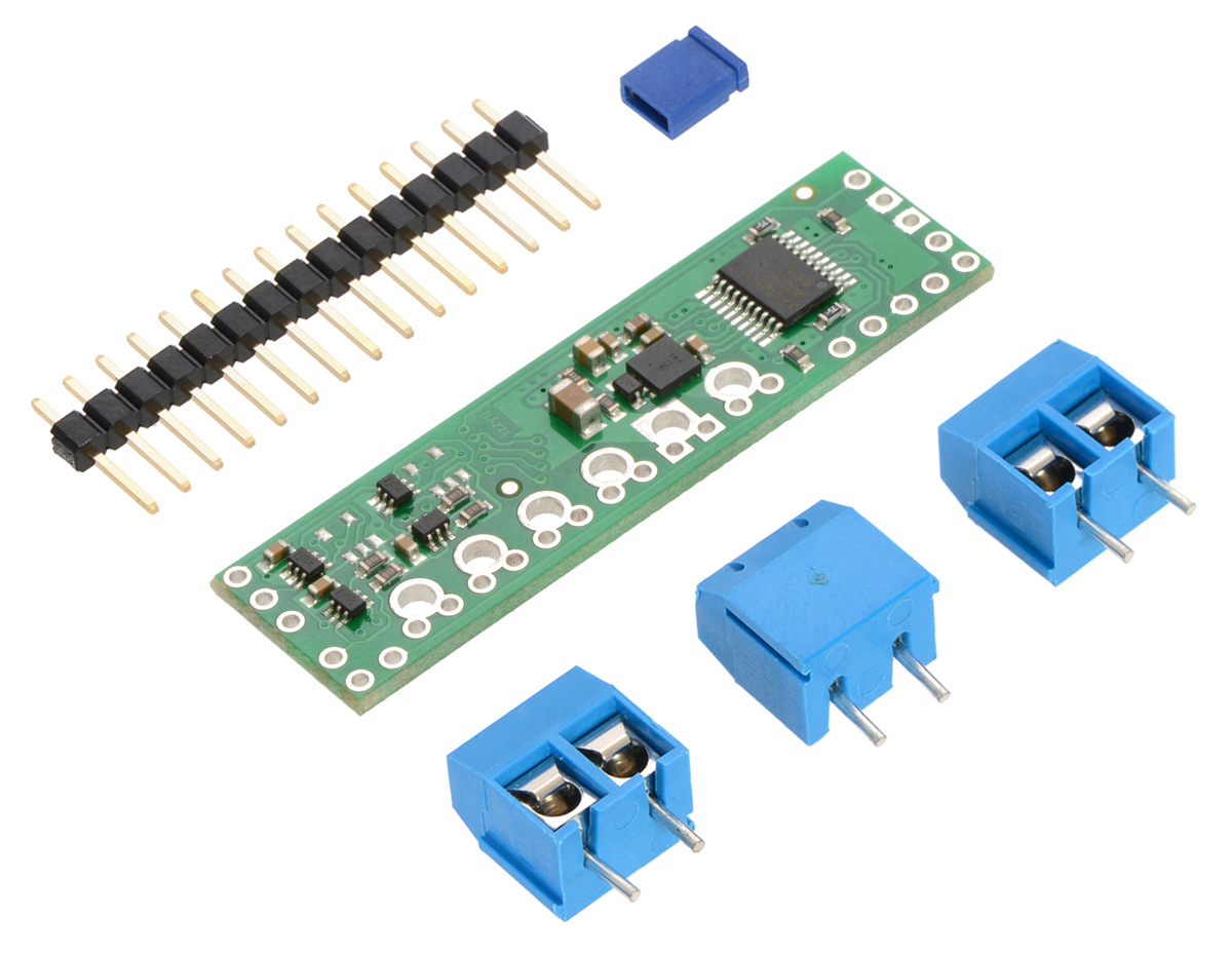 Pololu A4990 Dual Motor Driver Shield For Arduino Controller Additionally Hall Effect Sensor As Well Diagram