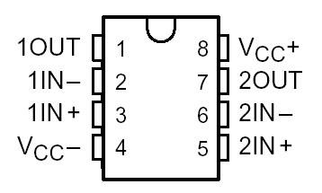 Op-Amp (Similar to ua741) RC4558