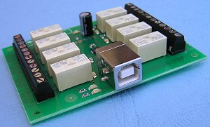 8 Channel Relay Module USB Interface