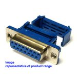 15-way IDC D Type Cable Mounting Socket