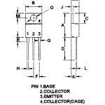 TIP136 MOSPEC Darlington 8A 80V Transistor
