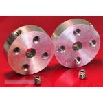 Pololu Mounting Hub 4mm + 4-40 US Mounting, Pack of 2