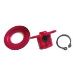 FingerTech 3mm Lectra Lite Snap Hubs for 12.7mm Wide Wheels Pk of 2