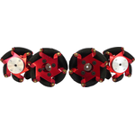 FingerTech 54x34mm Macanum Wheels, Set of 4