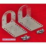 Pololu 37D Metal Gearmotor Bracket /Pk of 2