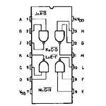4011B Quad 2 Input Nand Gate