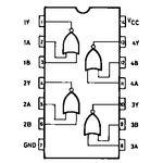 74HC02 Quad 2-Input Nor Gate