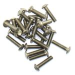 Button Head Stainless M3 x 12mm pk/25