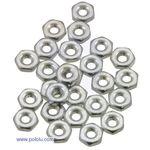 American 2-56 Hex Plain Nut pk/25