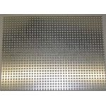 Perforated Metal Sheet 200x110x0.5xS3mm