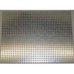 Perforated Metal Sheet 200x110x0.5xS3mm