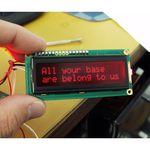 Basic 16x2 Character LCD - Red on Black 5V