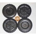 Plastic Wheel 51x16x2.6mm pk/4