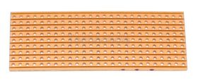 25mm x 64mm Copper Clad Stripboard