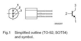 BC559C TO-92 30V PNP Transistor