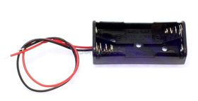 2 x AAA battery Holder with Flying Leads