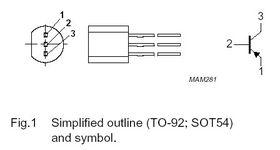 BC327-16 PNP 50V Transistor