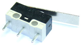 Subminiature microswitch with 20mm lever