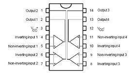 Comparator LM339N Quad