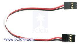 150mm Servo Plug to Plug Lead