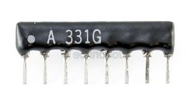 Resistor Network 7-Commoned 100R