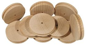 50mm Wooden Pulley Pack of 10