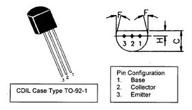 BC636 PNP TO-92 Transistor