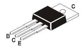 TIP121 DAR NPN 80V 5A TO-220 Transistor