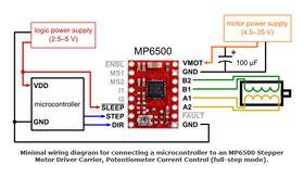 MP6500 Wiring
