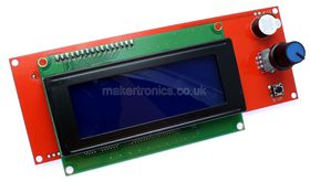 3D Printer RepRap Smart Controller 20x4 Blue LCD for Ramps 1.4 or Ultimaker