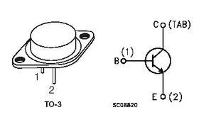 2N3055 NPN 100V Transistor