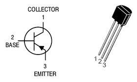 BC558B TO92 30V PNP Transistor