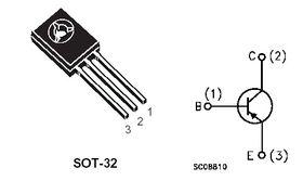 BD436 4A 32V PNP Transistor
