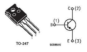 TIP2955 PNP 100V Transistor