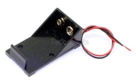 PP3 9V Battery Holder with Flying Leads