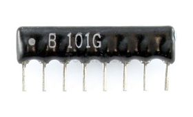 Resistor Network 4-Isolated 47R
