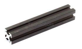 MakerBeam - 60mm Long Black Anodised Beam