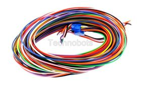 Equipment Wire Solid 1/0.6 11 Colour x 2m Pack