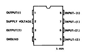 Dual 1W + 1W Audio Stereo Amplifier TDA2822M