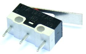Subminiature microswitch with 16mm lever