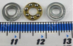 Miniature Thrust Ball Bearing F3-8M 3x8x3.5