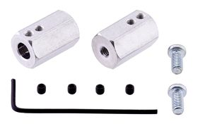 Pololu 12mm Hex wheel adapter for 6mm shafts