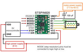 STSPIN820 minimal wiring