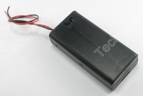 2 x AA Switched Battery Box with Leads