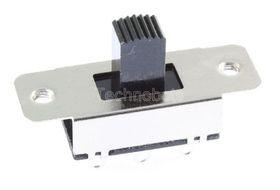 DPDT Slide Switch Centre Off 0.3A