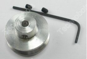 Alum. Pulley 25x14.75x4mm