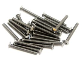 MakerBeam - M3 Square Head Set Bolts x 25mm Pack of 25