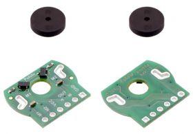 Plastic motor encoders